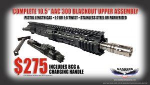 Sanders Armory 105 300 BO Upper Ad