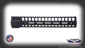 "Sanders Armory 12"" Lightweight Skelontized MLOK Handguard"