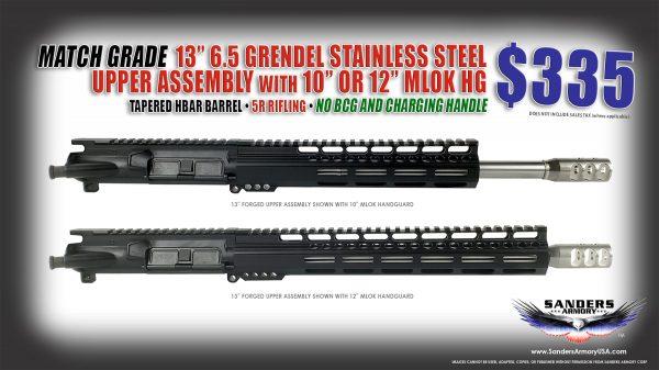 Sanders Armory 13 6.5 TFC Forged UA NO BCG