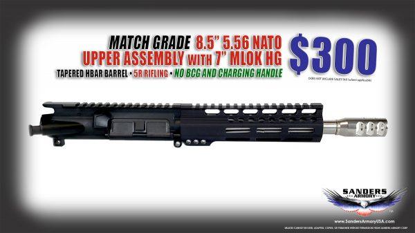 Sanders Armory 85 556 NATO TFC Forged UA NO BCG CH