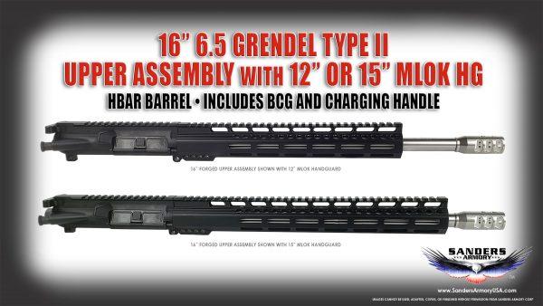 Sanders Armory 16 65 Grendel Upper Assembly